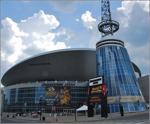 Bridgestone Arena Nashville TN